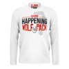 CJ SO COOL: WOLFPACK WHITE LONG SLEEVE T-SHIRT
