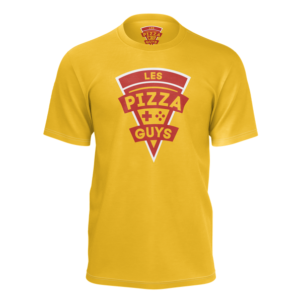 LES PIZZA GUYS: PIZZA GUYS OFFICIAL T-SHIRT