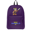 ANIKILO: CLASH  PURPLE BACKPACK