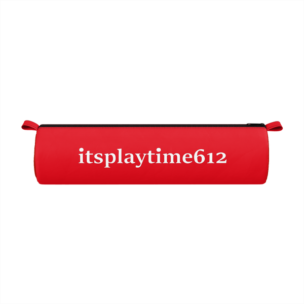 ITSPLAYTIME612: RED PENCIL CASE