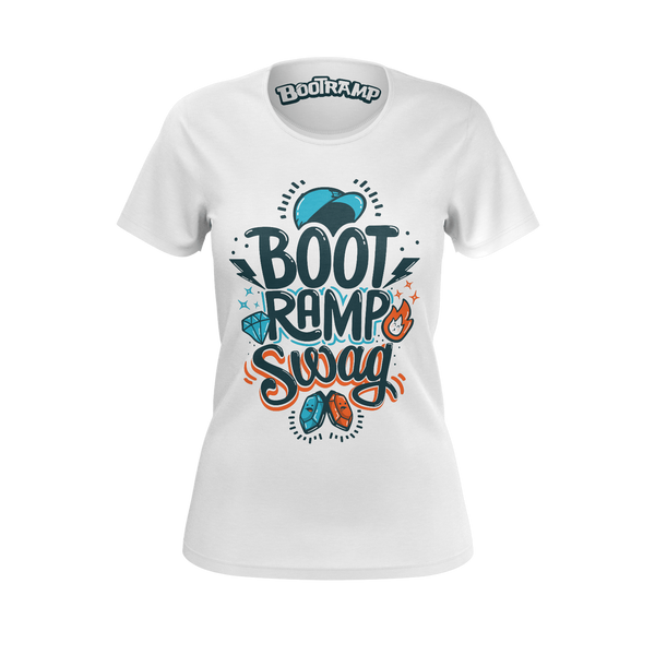 BOOTRAMP: SWAG T-SHIRT -  WOMEN