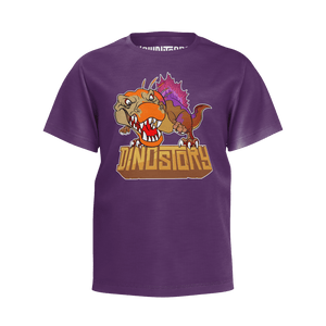 Spinosaurus Purple T-Shirt - Youth