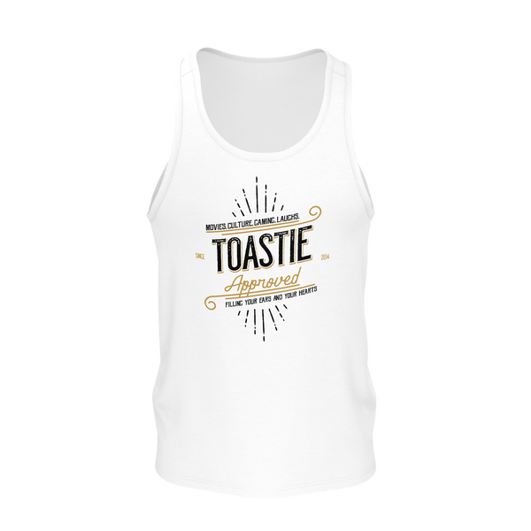 DOUBLE TOASTED: TOASTIE APPROVED TANK TOP