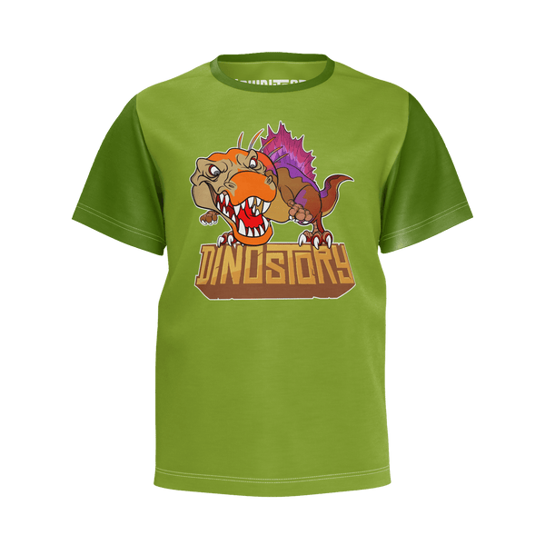 Spinosaurus Green T-Shirt - Youth