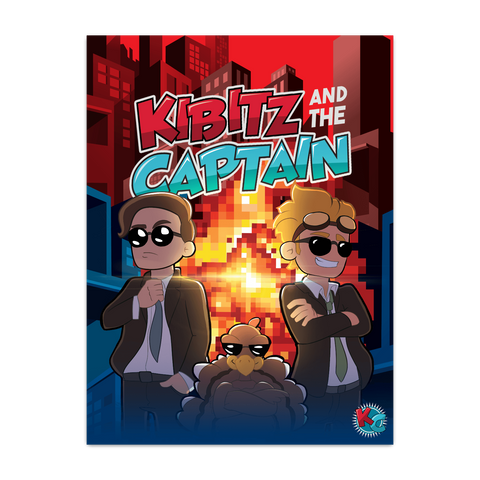 KIBITZ AND THE CAPTAIN: EXPLOSION POSTER