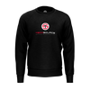 TECHSOURCE: BLACK LOGO SWEATER