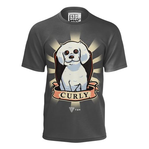 FERNANFLOO: CURLY T-SHIRT