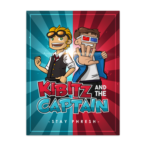 KIBITZ AND THE CAPTAIN: POSTER