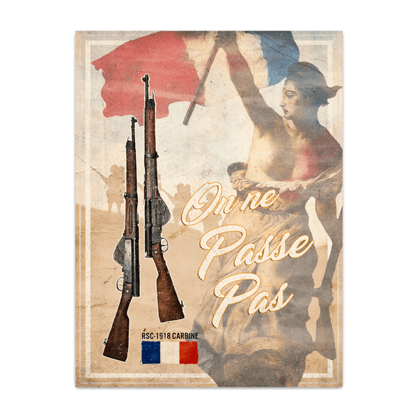1919 Secret Weapons - France Poster
