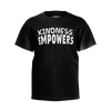 CASEY SIMPSON: KINDNESS EMPOWERS BLACK T-SHIRT - KIDS