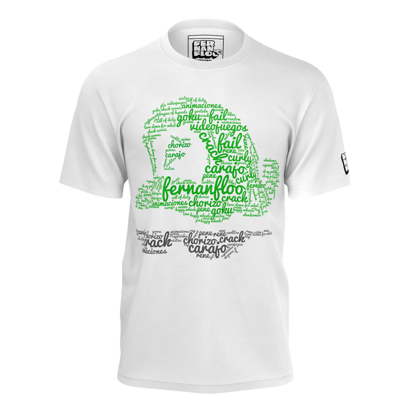 FERNANFLOO: WORDCLOUD T-SHIRT