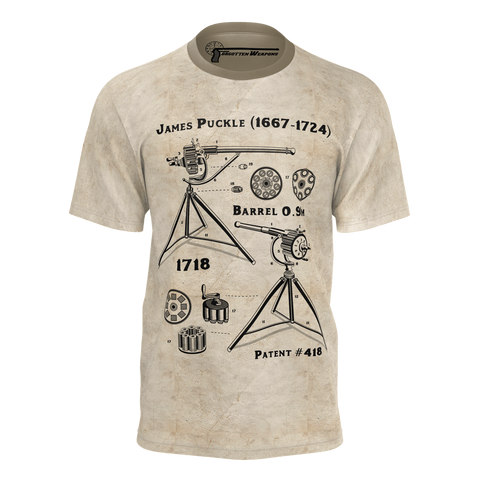 Forgotten Weapons: Puckle Gun T-Shirt