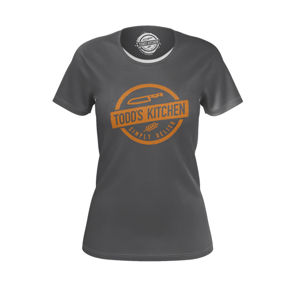 TODD'S KITCHEN: GRAY T-SHIRT- WOMEN