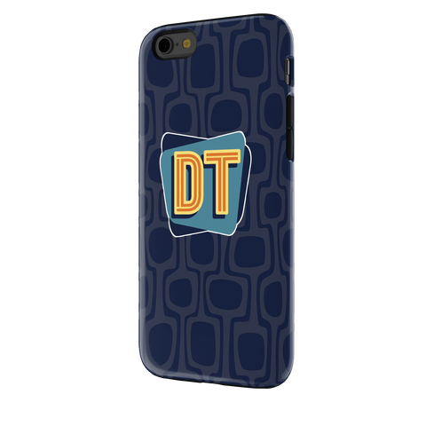 DOUBLE TOASTED: NAVY BLUE IPHONE 6S TOUGH PHONE CASE