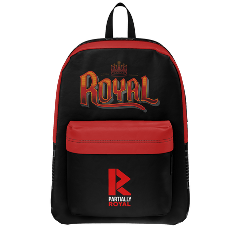 PARTIALLY ROYAL: ROYAL BACKPACK