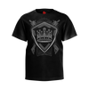 PARTIALLY ROYAL: CREST T-SHIRT - KIDS