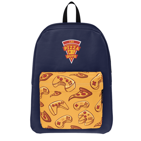 LES PIZZA GUYS: BLUE BACKPACK