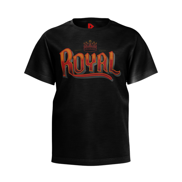PARTIALLY ROYAL: TYPE T-SHIRT -  KIDS