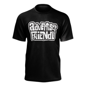 Advertiser Friendly Black T-Shirt