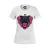 CHRIS OFLYNG: PANTHER WHITE T-SHIRT - WOMEN