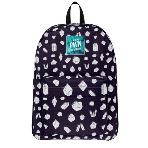 TGN: POLYGONS BACKPACK