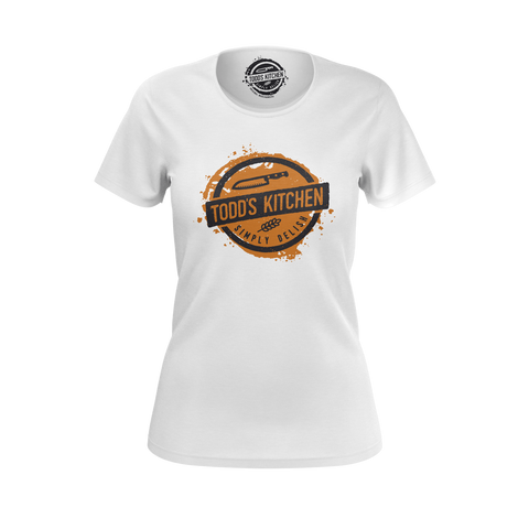 TODD'S KITCHEN: WHITE T-SHIRT- WOMEN