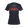 APARRI: BLACK T-SHIRT - WOMEN