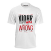 MASTER WONG: WHITE QUOTE T-SHIRT