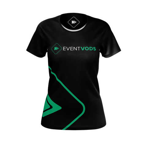 EVENTVODS: BIG LOGO T-SHIRT - WOMEN
