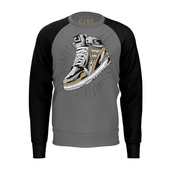 CJ SO COOL: SNEAKER SWEATSHIRT