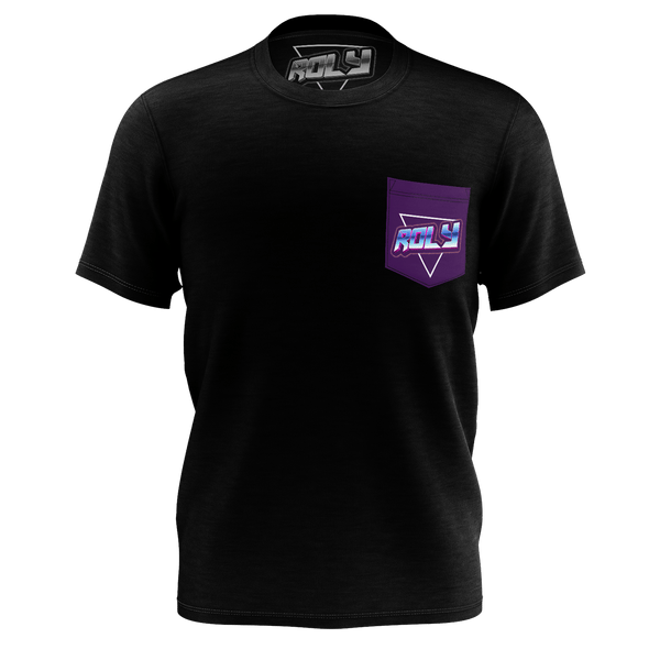 ROLY : PURPLE POCKET T-SHIRT
