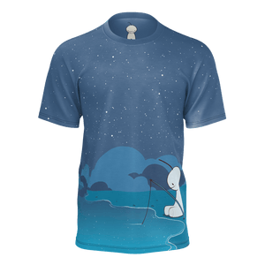Fishing Blue T-Shirt