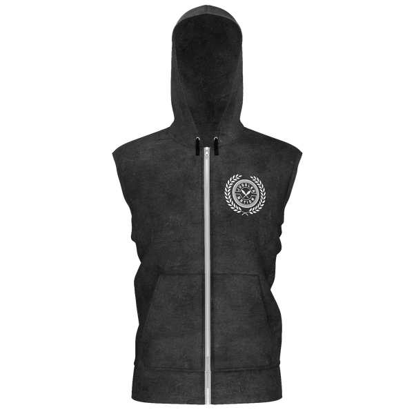 Juggler Nation Sleeveless Zip Hoodie - Adult