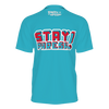 KIBITZ AND THE CAPTAIN: STAYPHRESH BLUE T-SHIRT