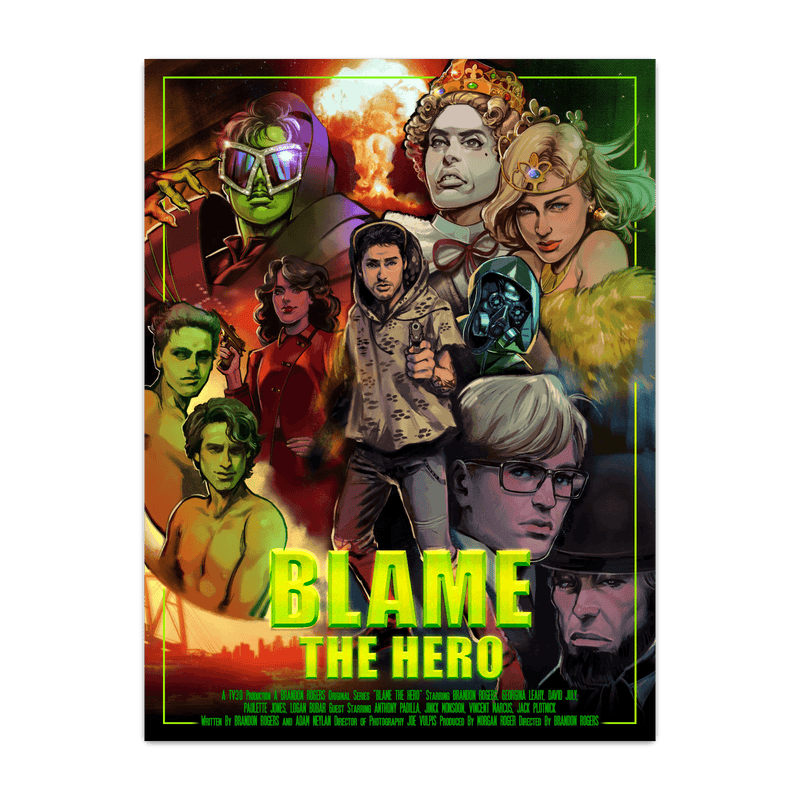 Blame the Hero Poster