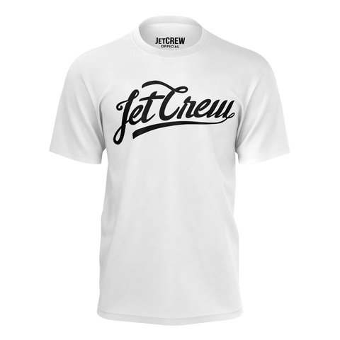 JETCREW: WHITE T-SHIRT