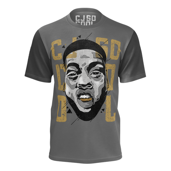 CJ SO COOL: FACE GREY T-SHIRT