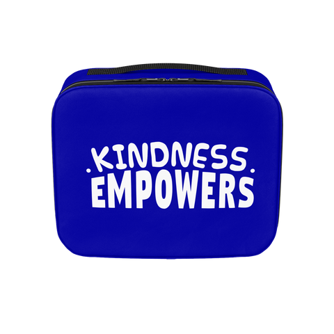 CASEY SIMPSON: KINDNESS EMPOWERS  BLUE LUNCHBOX