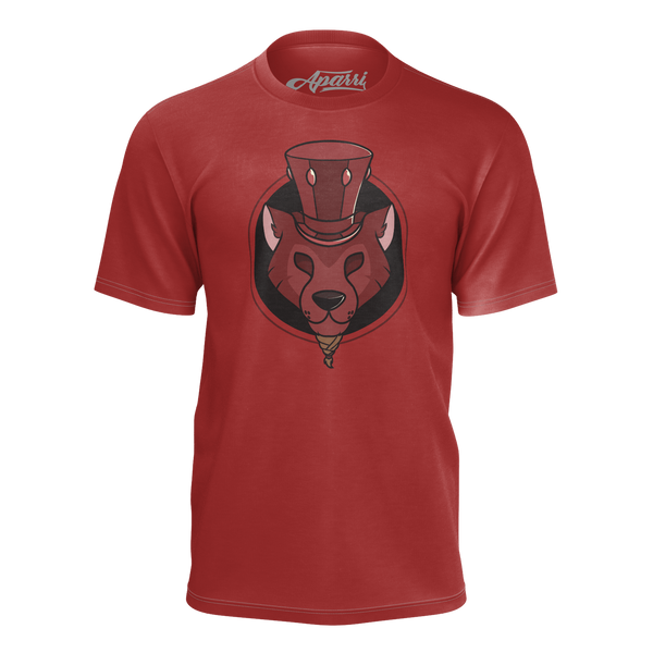 APARRI: RED LOGO T-SHIRT