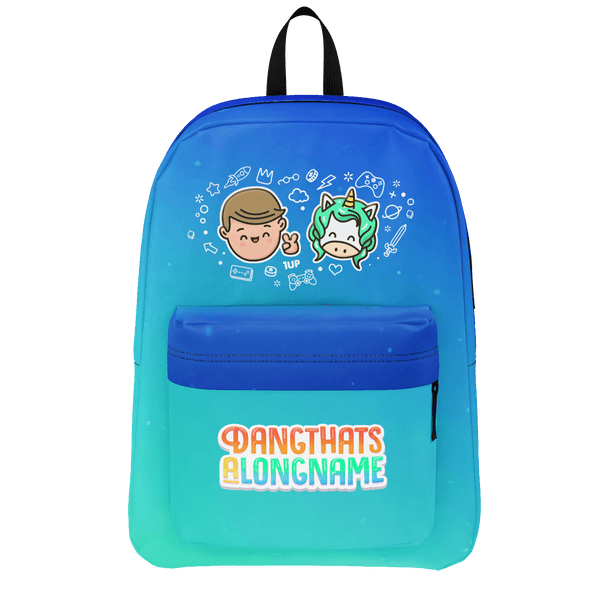 DANGTHATSALONGNAME: UNICORN BACKPACK
