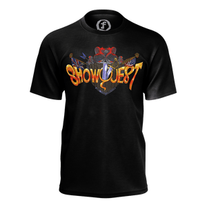 Show Quest Shield Black T-Shirt