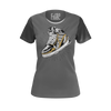 CJ SO COOL: SNEAKER GREY T-SHIRT - WOMEN