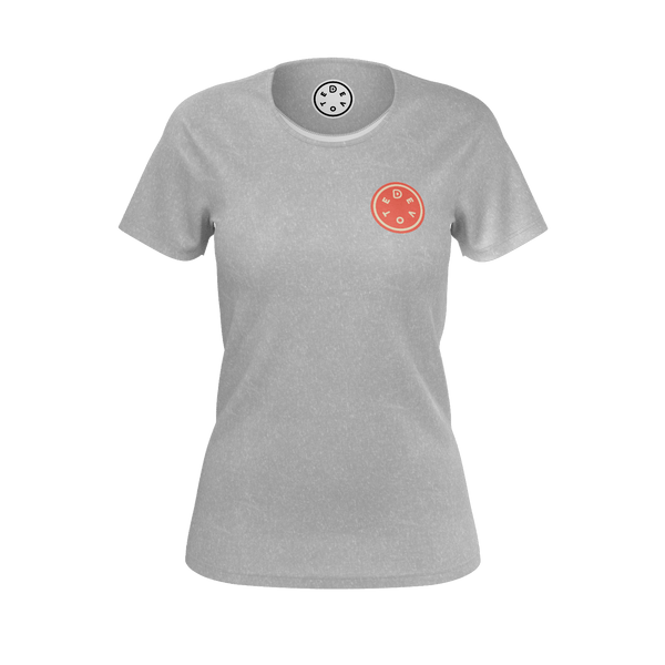 The Orange Button Logo Tee