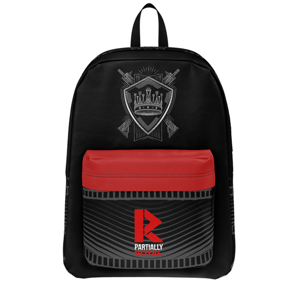 PARTIALLY ROYAL: CREST BACKPACK