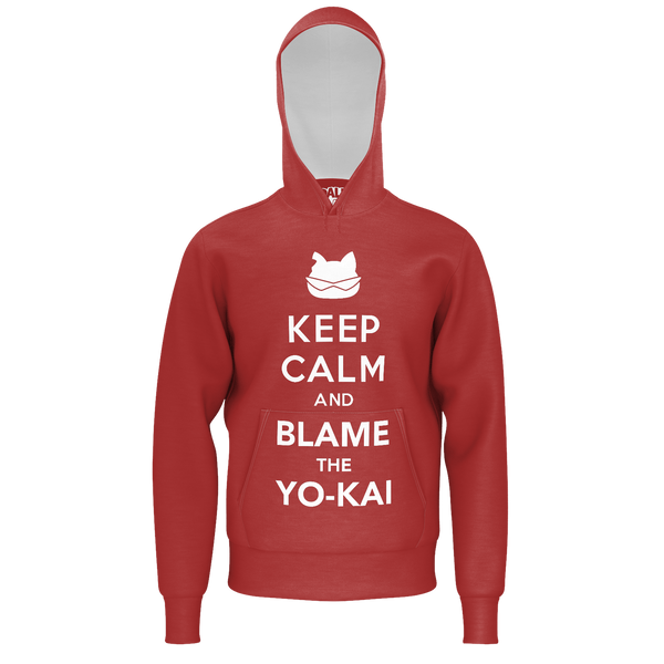ABDALLAHSMASH026: KEEP CALM RED HOODIE