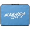 CASEY SIMPSON: CASEYNATOR BLUE LAPTOP CASE