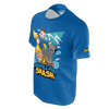 ABDALLAHSMASH026: SMASH TEAM BLUE T-SHIRT