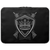 PARTIALLY ROYAL: CREST LAPTOP CASE