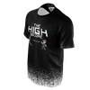 DOUBLE TOASTED: THE HIGH SCORE BLACK T-SHIRT