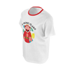 LUNACRECIENTE: ROJO MONKEY T-SHIRT - KIDS